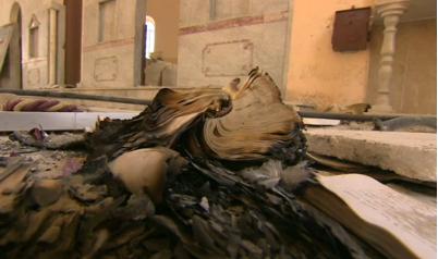 Monastero S. Elia - Messale profanato