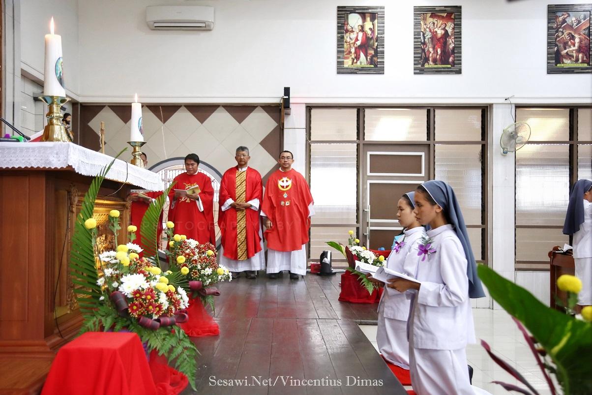 Pontianak in festa per le nuove vocazioni tra le suore dell'Immacolata