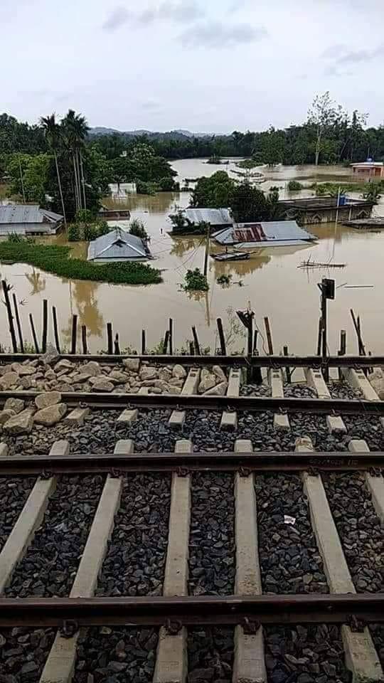 Caritas India soccorre le popolazioni del nord-est colpite dalle piogge