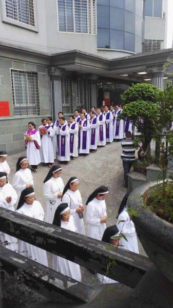 Funeral of Msgr. Huang Shoucheng