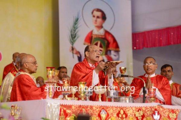 Karnataka, il santuario di san Lorenzo elevato a basilica minore-7