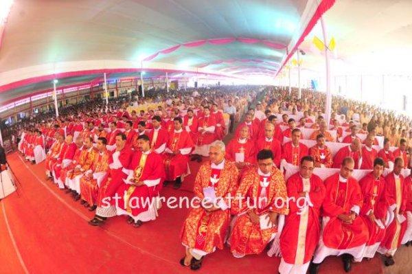 Karnataka, il santuario di san Lorenzo elevato a basilica minore-11
