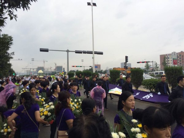 Funerali del vescovo di Wenzhou-8