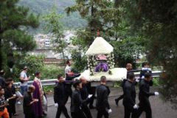 Funerali del vescovo di Wenzhou-1