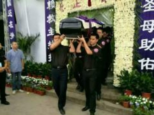 Funerali del vescovo di Wenzhou-3