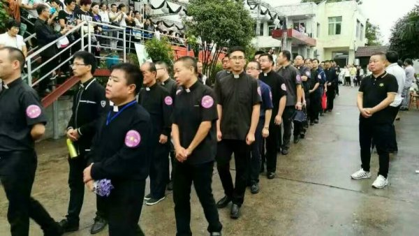 Funerali del vescovo di Wenzhou-6