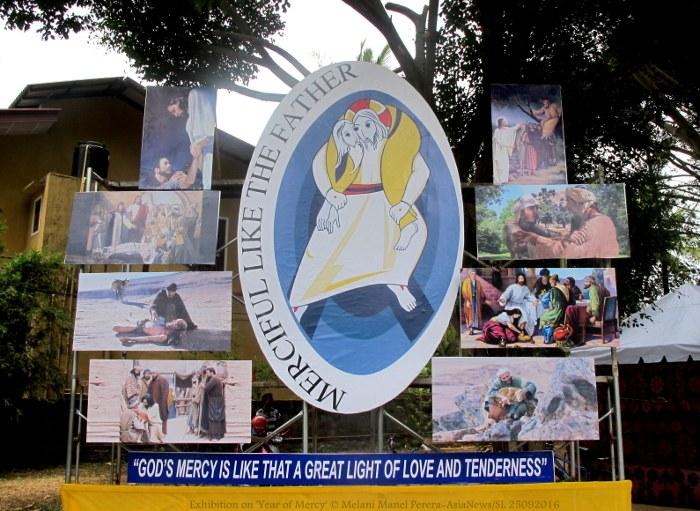 Mostra sull'Anno della Misericordia in Sri Lanka-3