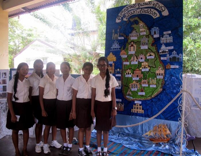Mostra sull'Anno della Misericordia in Sri Lanka-1