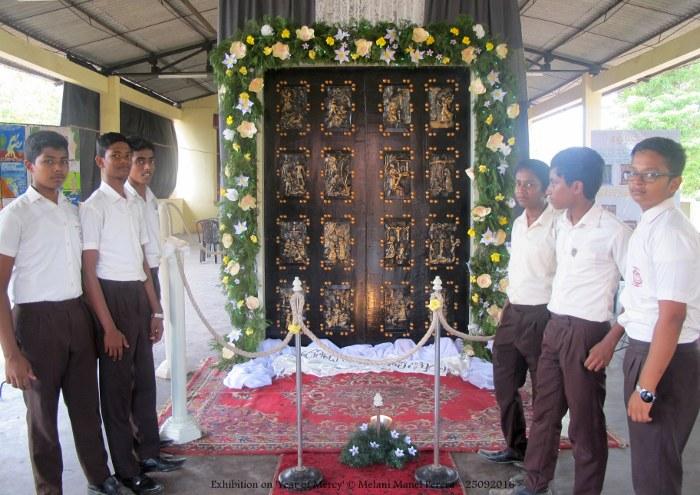 Mostra sull'Anno della Misericordia in Sri Lanka-5
