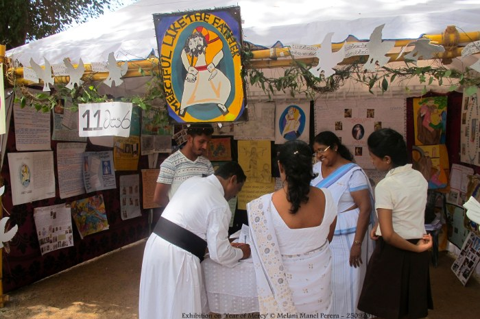 Mostra sull'Anno della Misericordia in Sri Lanka-9