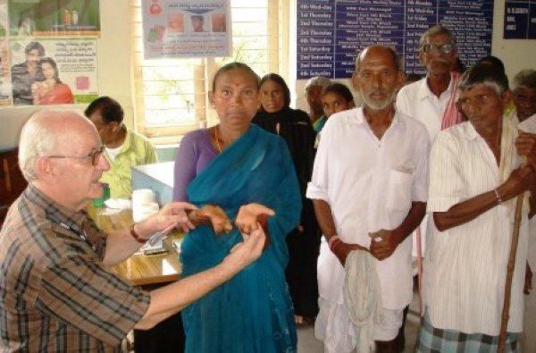 La missione di p. Antonio Grugni tra i malati di tubercolosi e lebbra in India-6
