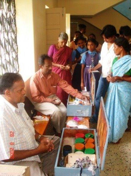 La missione di p. Antonio Grugni tra i malati di tubercolosi e lebbra in India-7