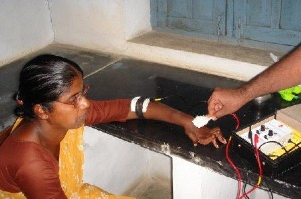 La missione di p. Antonio Grugni tra i malati di tubercolosi e lebbra in India-8