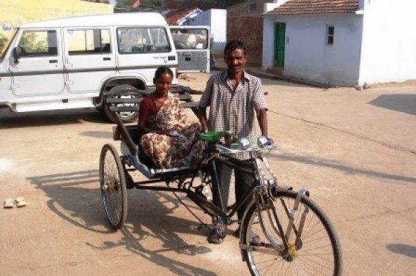 La missione di p. Antonio Grugni tra i malati di tubercolosi e lebbra in India-10