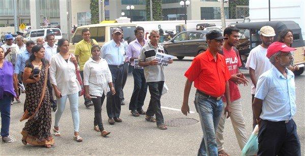 Raccolta firme per il rilascio dei prigionieri politici in Sri Lanka-4
