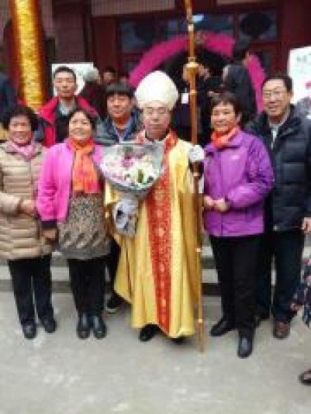 Mons. G.B. Wang Xiaoxun ordinato vescovo coadiutore di Ankang-1