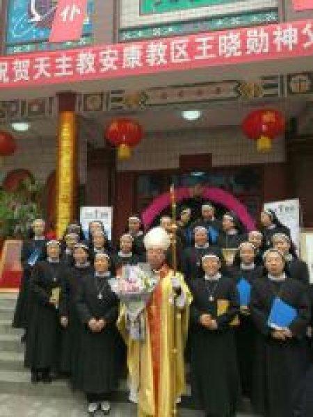 Mons. G.B. Wang Xiaoxun ordinato vescovo coadiutore di Ankang-5
