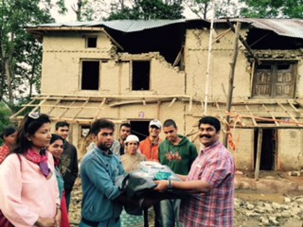 Bangalore Cares for Nepal-1