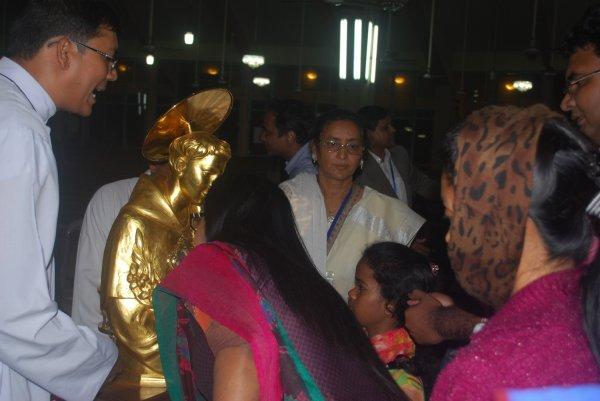 Reliquie di sant'Antonio da Padova in Bangladesh-7
