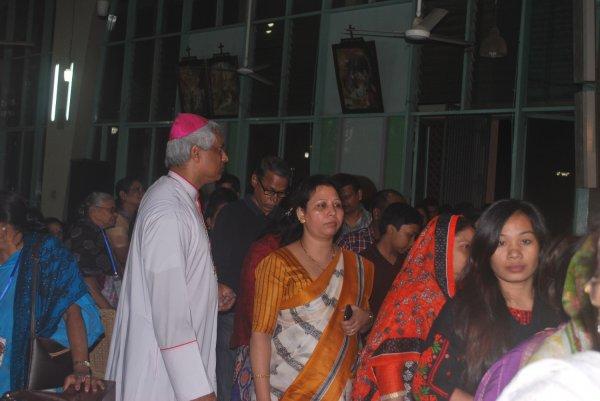 Reliquie di sant'Antonio da Padova in Bangladesh-8