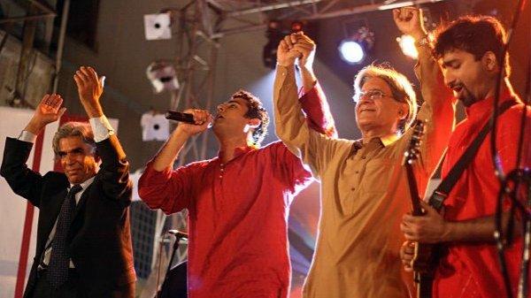 Rock-band di Lahore combatte il terrorismo con la musica-7
