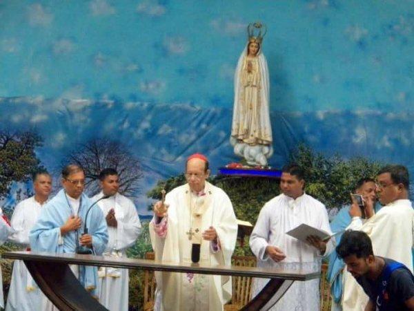 Centenario di Fatima nel santuario di Karjat in India-2