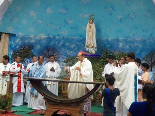 Centenario di Fatima nel santuario di Karjat in India-3