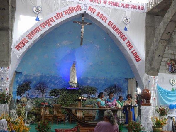 Centenario di Fatima nel santuario di Karjat in India-5