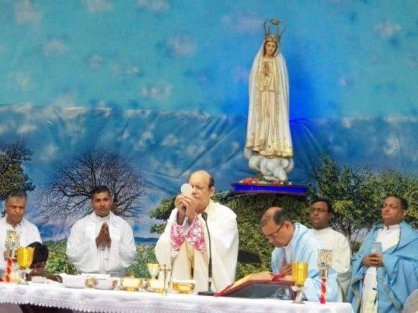 Centenario di Fatima nel santuario di Karjat in India-6