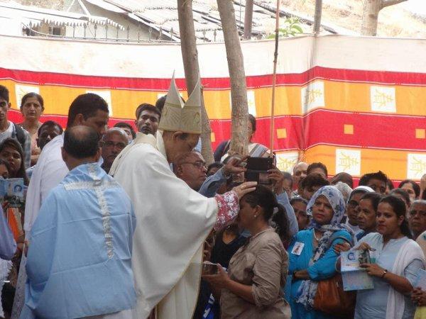 Centenario di Fatima nel santuario di Karjat in India-8