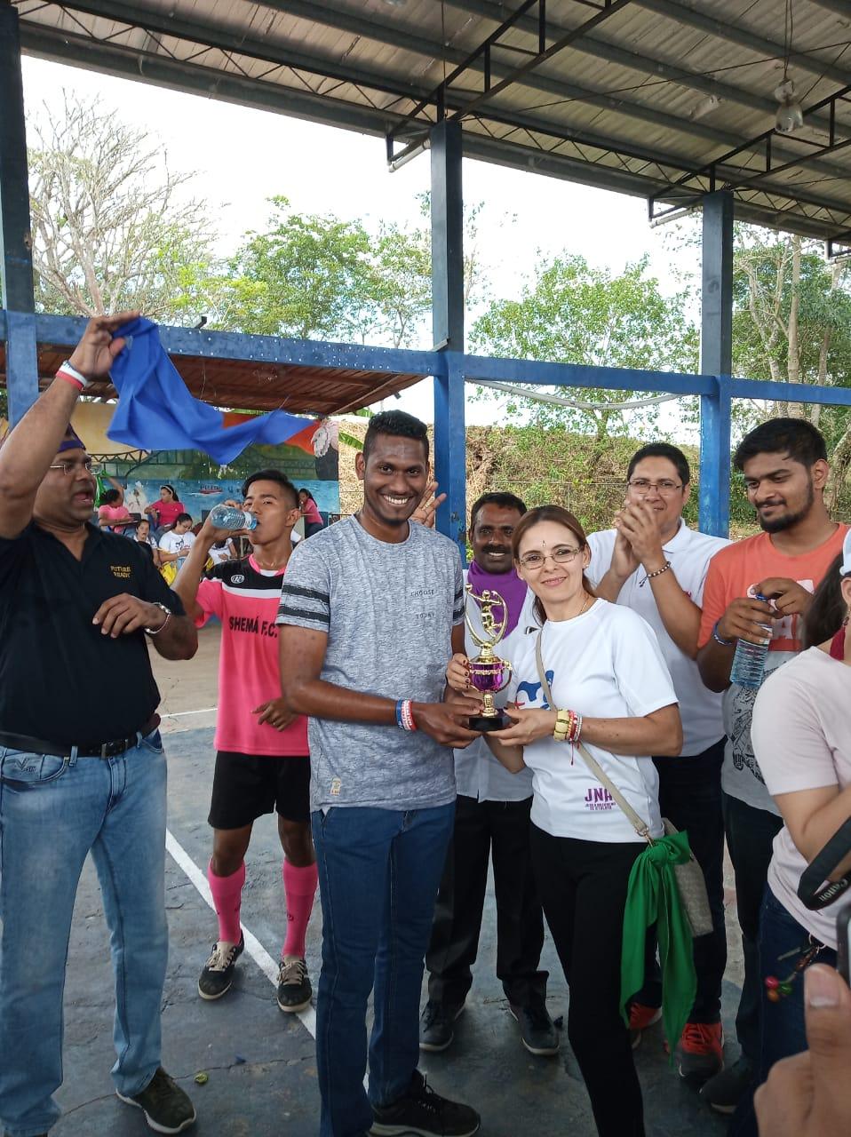 GMG di Panama, sport e preghiere per i giovani indiani