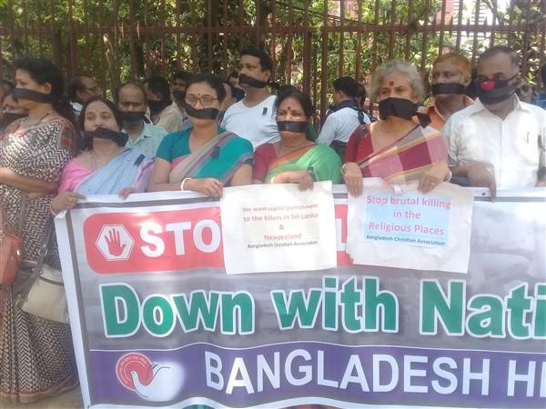 Dhaka: centinaia di indù, buddisti e cristiani condannano i massacri in Sri Lanka