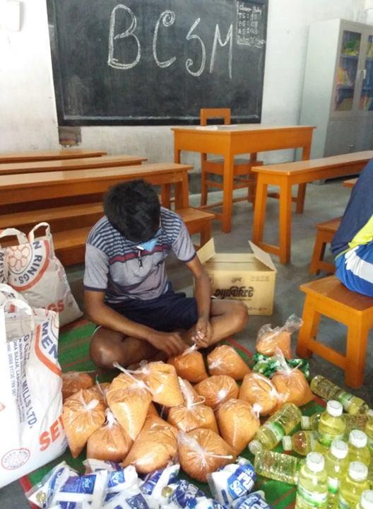 Coronavirus aid in Bangladesh