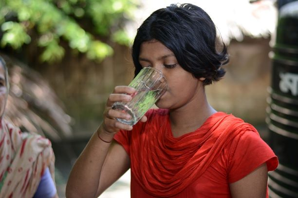 Water crisis caused by Cyclone Amphan