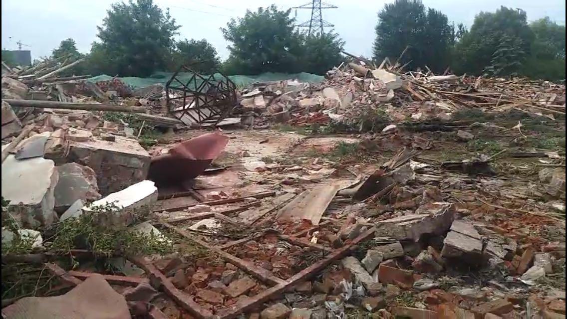 Qianwang Church demolished