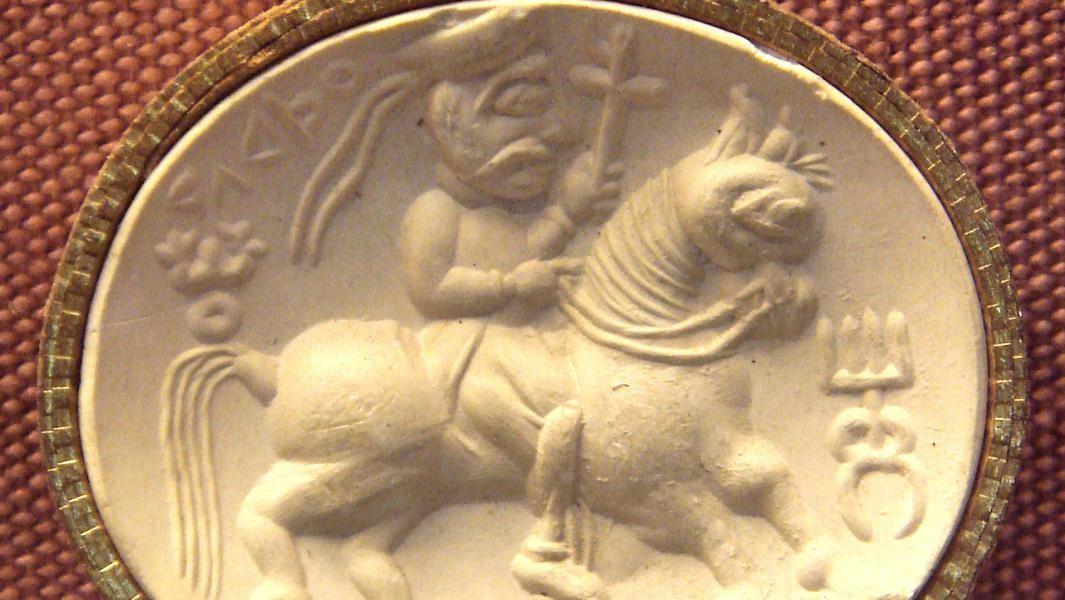 Cavaliere Kusana - Kushan knight