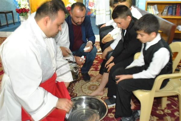 La Pasqua fra i profughi di Mosul