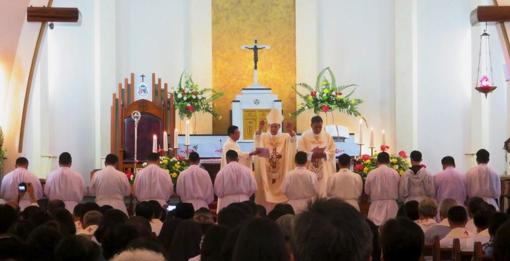 Diaconate ordination (Malang Diocese) - 01