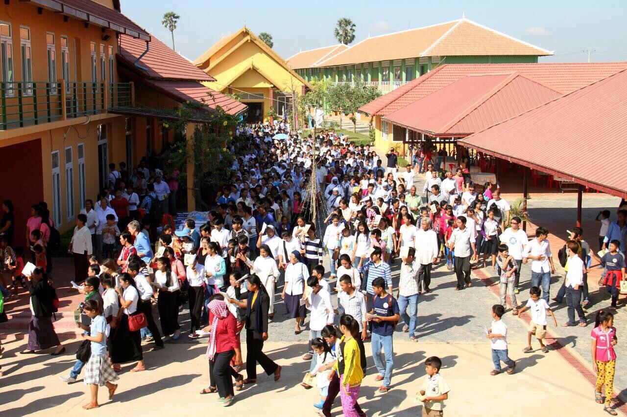 Giubileo in Cambogia