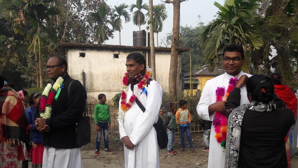 New PIME's parish in Kharubanga