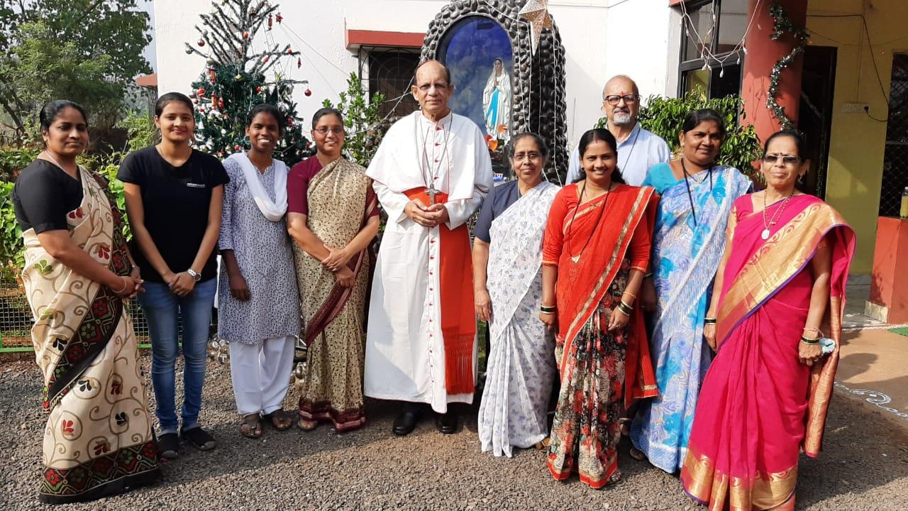 Cardinal Gracias's Pastoral Visit to Raigad Deanery