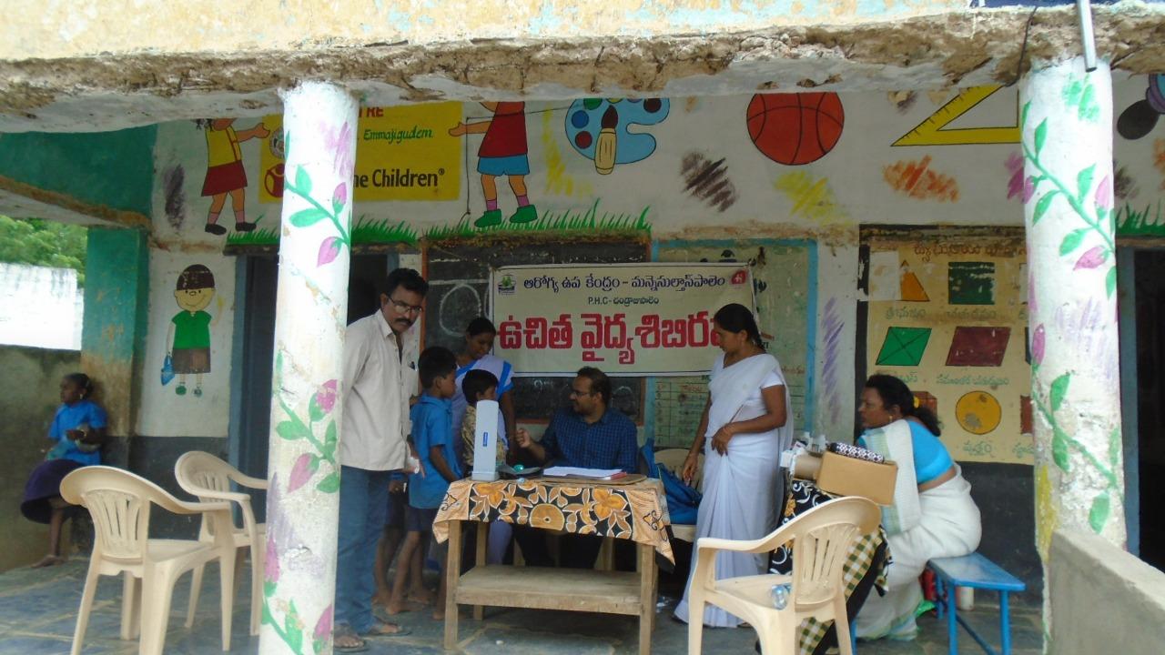 Caritas India flood relief work