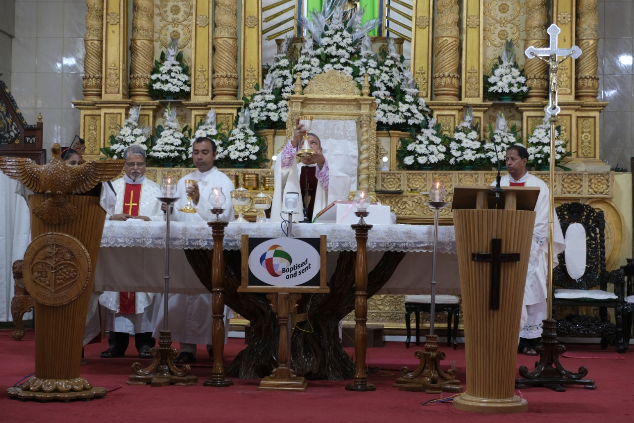Inaugural Mass of the Extraordinary Missionary Month, Vasai Archdiocese