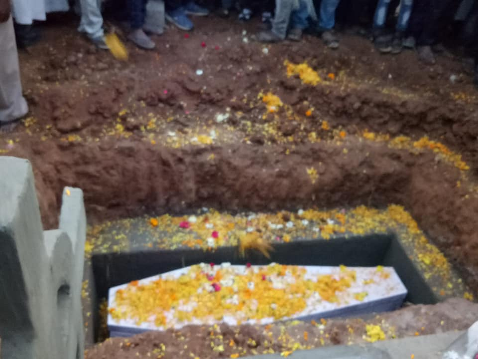 Funerali di padre Antonio Grugni