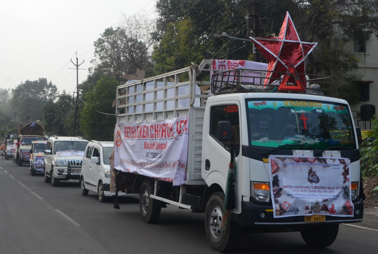 Christmas Rally in Bhopal
