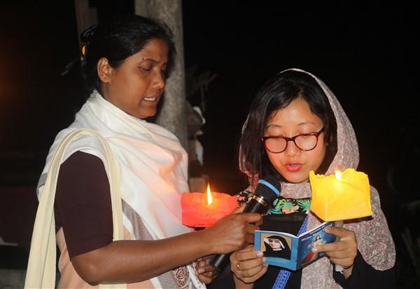 Arunachal Pradesh, cattolici indiani pregano per le vittime dello Sri Lanka