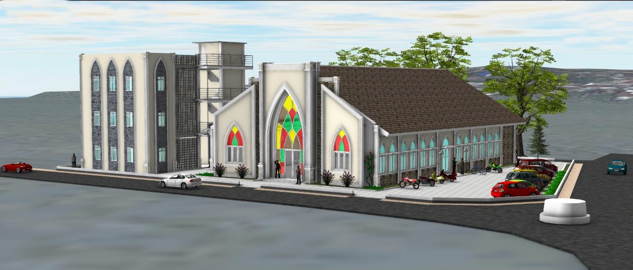 St. Joseph Church in Karimun