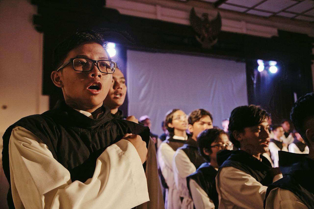 Canis Choir, seminaristi in concerto
