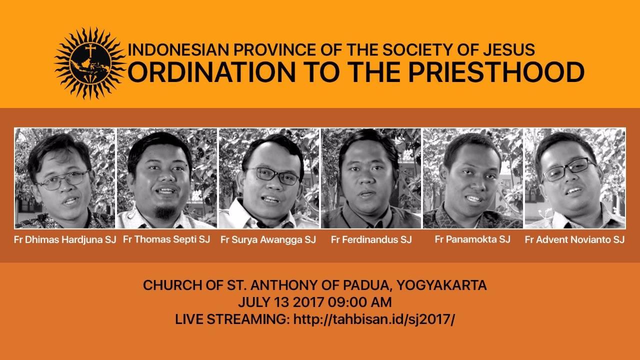 Ordinazioni in Indonesia, luglio 2017