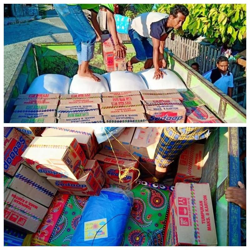 Sulawesi, cattolici distribuiscono cibo e assistenza alle vittime del sisma